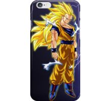 Super Saiyan 3 Goku iPhone Case/Skin