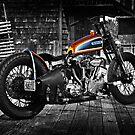 Harley Davidson Knucklehead by Jeff Cochran
