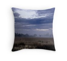 Farmland at Dawn Throw Pillow
