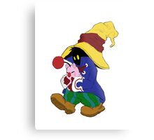 """""""Cuddles"""" with Vivi from FF9 Metal Print"""