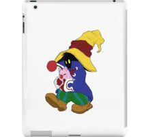 """Cuddles"" with Vivi from FF9 iPad Case/Skin"