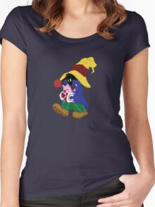 """""""Cuddles"""" with Vivi from FF9 Women's Fitted Scoop T-Shirt"""