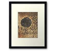 Artwork of Fire Framed Print