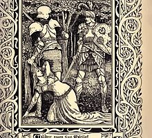 Spenser's Faerie queene A poem in six books with the fragment Mutabilitie Ed by Thomas J Wise, pictured by Walter Crane 1895 V6 23 - Calidore Saves from Malessort by wetdryvac