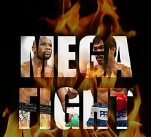 MEGAFIGHT, pACMAN VS mAYWEATHER by ches98