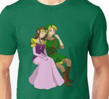 A Hero and His Princess Unisex T-Shirt