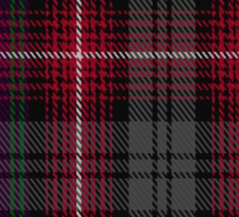 00370 Isle of Arran Tartan  Sticker