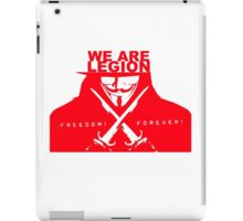 we are.... anon iPad Case/Skin