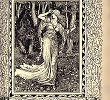 Spenser's Faerie queene A poem in six books with the fragment Mutabilitie Ed by Thomas J Wise, pictured by Walter Crane 1895 V6 65 - Malidore Brings Priscilla Home by wetdryvac
