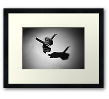 Girl (jumping) Framed Print