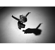 Girl (jumping) Photographic Print