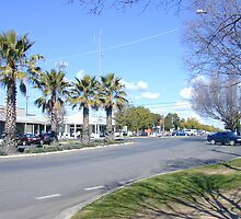 Main Street of Yarrawonga by David Hunt
