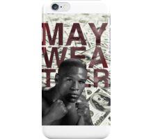 The money maker, Floyd Mayweather iPhone Case/Skin