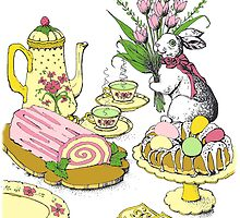 Easter Feast by Kate Eller