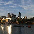 city of London by Bimal Tailor