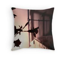 shadow of life Throw Pillow