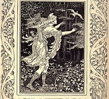 Spenser's Faerie queene A poem in six books with the fragment Mutabilitie Ed by Thomas J Wise, pictured by Walter Crane 1895 V4 171 - The Gentle Squire Recovers Grace by wetdryvac