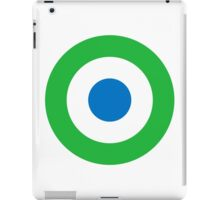 Sierra Leone Air Force - Roundel iPad Case/Skin