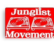 Junglist Movement Canvas Print