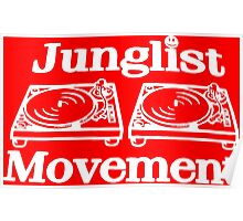 Junglist Movement Poster