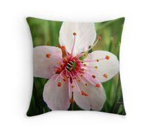 Easter Bloom Throw Pillow