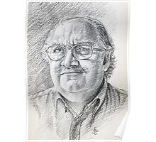 Alessandro Giraudo portrait Poster