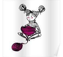 Knitting time  Poster