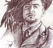 Massimo Rendina portrait by Francesca Romana Brogani