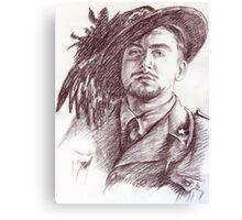 Massimo Rendina portrait Canvas Print