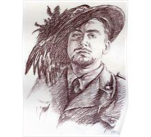 Massimo Rendina portrait Poster
