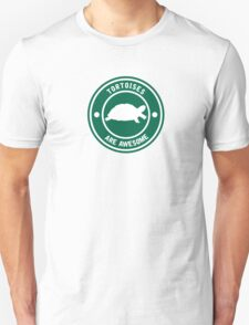 Tortoises are awesome (Green) T-Shirt