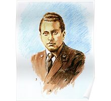 """""""Volando con Visconti"""" Portraits- Valerio Stefanini Poster"""
