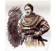 Lo Spirito del Serchio Portraits- Teseo Tesei Poster