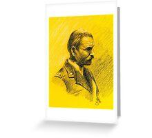 """Volando con Visconti "" portraits- Adriano Visconti Greeting Card"