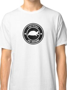 Tortoises are awesome (BLACK) Classic T-Shirt