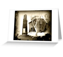 Haunted Cenotaph Greeting Card