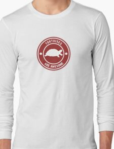 Tortoises are awesome (RED) Long Sleeve T-Shirt