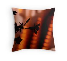 the shadows are alive I Throw Pillow