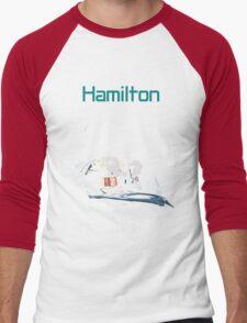 Lewis Hamilton 2015 World Champion Men's Baseball ¾ T-Shirt
