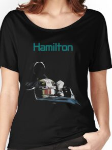 Lewis Hamilton 2015 World Champion Women's Relaxed Fit T-Shirt