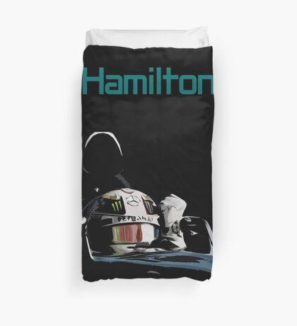 Lewis Hamilton 2015 World Champion Duvet Cover
