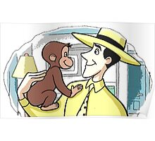 Curious George & MWTYH Poster