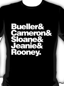 BUELLER & T-Shirt