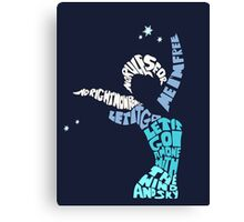 Elsa - Let it go Canvas Print