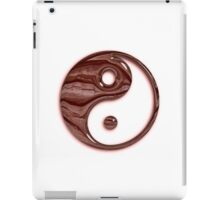 Glassy Wood Yin Yang Symbol iPad Case/Skin