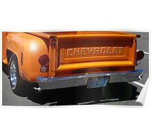 Chevy Step-side Poster
