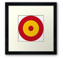 Spanish Air Force - Roundel Framed Print