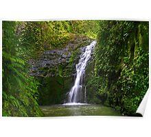Maunawili Falls Poster