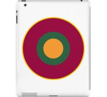 Sri Lanka Air Force - Roundel iPad Case/Skin