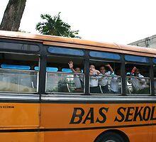 Malaysian School Bus by Katy Pryor